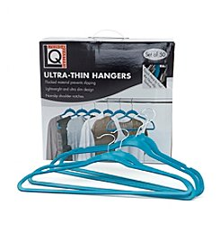 LivingQuarters 50-Pk. Ultra Thin Hangers