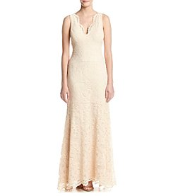 Nicole Miller New York™ Long Lace Gown