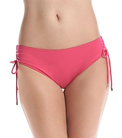 Calvin Klein Side Shirred Hipster Bottoms
