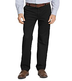Izod Performance Stretch Classic Fit Flat Front Pant