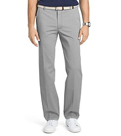 Izod® Men's Straight Fit Flat Front Performance Stretch Pants