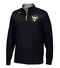 Reebok® NHL® Pittsburgh Penguins Men's Center Ice 1/4 Zip Pullover