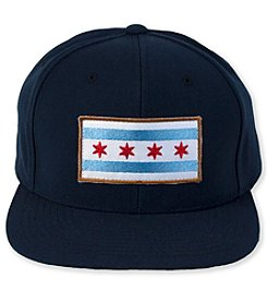 Transit Tees Chicago Flag Snap Back Hat