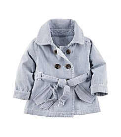 Carter's® Baby Girls' Denim Trench Jacket