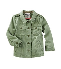 OshKosh B'Gosh® Girls' 2T-8 Light Weight Woven Jacket