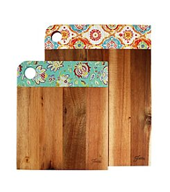 Fiesta® Set of 2 Decal Cutting Boards