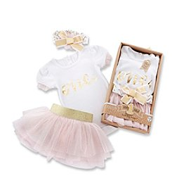 Baby Aspen My First Birthday 3 Piece Tutu Outfit