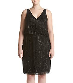 Adrianna Papell® Plus Size Blouson Dress