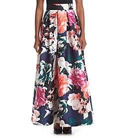 Eliza J® Floral Ball Skirt