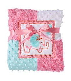 Cuddle Bear® Baby Girls' Elephant Blanket