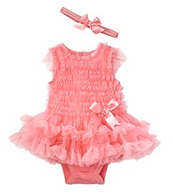 Cuddle Bear® Baby Girls' 2-Piece Tutu Photo Dress