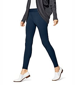 HUE® Style Tech Blackout Leggings