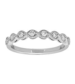 0.25 ct. t.w. Delicate Diamond Ring in 10K White Gold