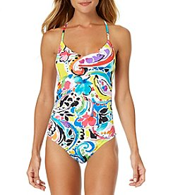 Anne Cole® V-Neck One Piece