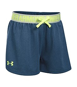 Under Armour® Girls' 7-16 Solid Play Up Shorts