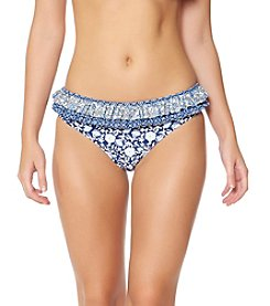 Jessica Simpson Floral Ruffle Hipster Bottoms