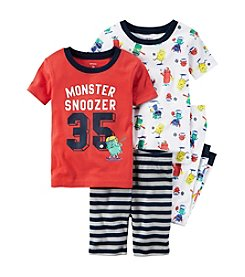Carter's® Boys' 5-12 4-Piece Monster Set