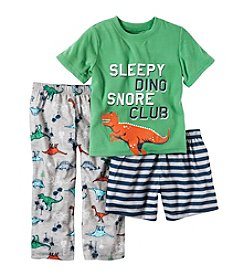 Carter's® Boys' 5-12 3-Piece Dino Set