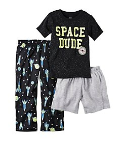 Carter's® Boys' 5-12 3-Piece Space Dude Pajama Set