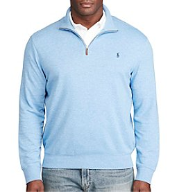 Polo Ralph Lauren® Men's Big & Tall Long Sleeve 1/4 Zip Pullover
