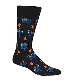 Hot Sox® Menorah Socks