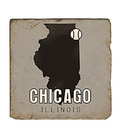 Studio Vertu Chicago Baseball Coaster