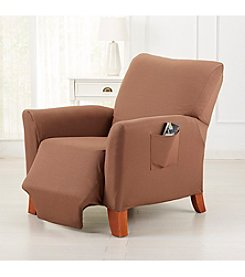 Home Fashions Dawson Collection Twill Form Fit Recliner Protector Slipcover
