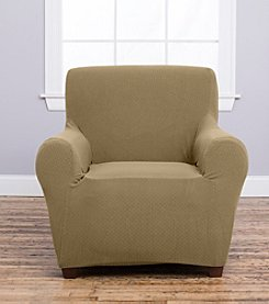 Home Fashions Amalio Collection Stretch Fit Heavyweight Chair Slipcover