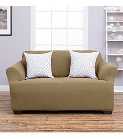 Home Fashions Amalio Collection Stretch Fit Heavyweight Loveseat or Sofa Slipcover