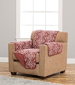 Home Fashions Kingston Collection Stain Resistant Printed Chair Cover