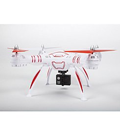 World Tech Toys Wraith SPY Drone 4.5 Channel 1080p HD Video Camera 2.4GHz RC Quadcopter