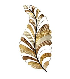 Stratton Home Decor Cut-Out Gold Leaf