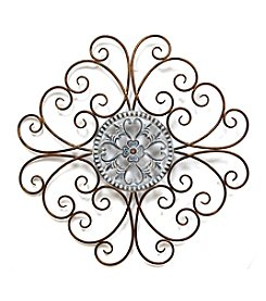 Stratton Home Decor Scroll Medallion Wall Decor