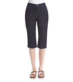 Gloria Vanderbilt® Amanda Embroidered Denim Skimmers