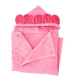 Cuddle Bear® Baby Girls' Floral Hooded Towel
