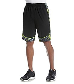 Exertek® Men's Printed Side Hem Shorts