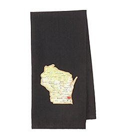 Taylor & Coultas Wisconsin Home Is Where Your Heart Is Towel