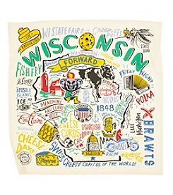 Primitives by Kathy Super Wisconsin Dish Towel