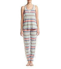 Zoe&Bella @BT Crochet Stripe Pajama Set