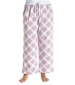 KN Karen Neuburger Plus Size Plaid Pajama Pants