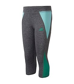 adidas® Girls' 2T-6X Capri Tights