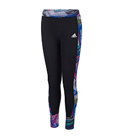 adidas® Girls' 2T-6X Free Kick Tights With Printed Side