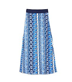 Amy Byer Girls' 7-16 Printed Maxi Skirt