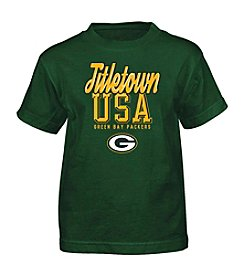 adidas® NFL® Green Bay Packers Boys' 4-7 Legacy Short Sleeve Tee