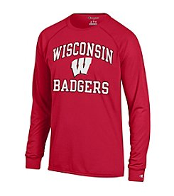 Champion® NCAA® Wisconsin Badgers Men's Long Sleeve Tee