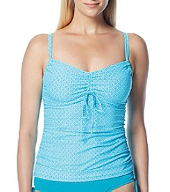 Beach House® Taylor Adjustable Neckline Tankini Top