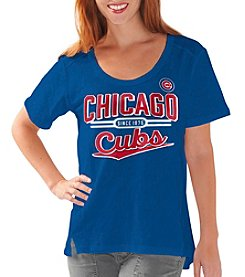 G III MLB® Chicago Cubs Women's Varsity Tee