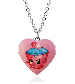 Shopkins™ Children's Cupcake Chic Heart Locket Pendant Necklace