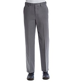 Savane Ultimate Performance Chino Stretch Straight Fit Flat Front Pants