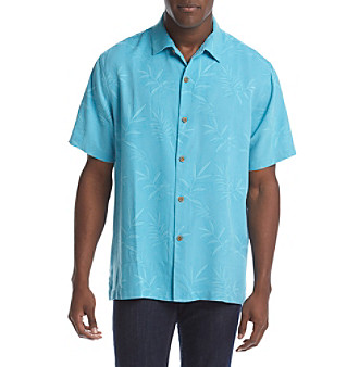 039142a8 Tommy Bahama® Men's Luau Floral Camp Short Sleeve Button Down Shirt |  Younkers